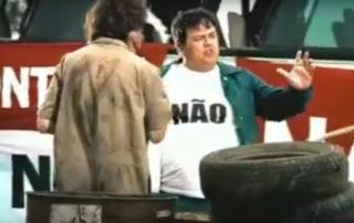 Uma sátira a quem era contra o pedágio (1998)